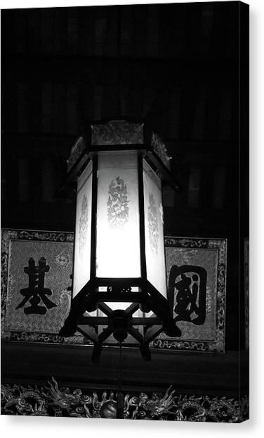 Hanging Lantern Hue Vietnam Canvas Print