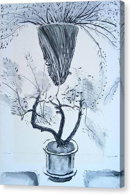 Hanging Plant Canvas Print