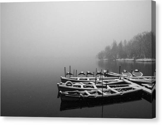 Hangzhou's West Lake Canvas Print