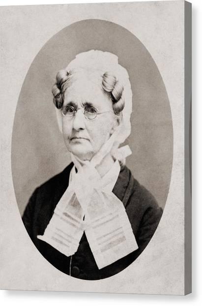 Hannah Simpson Grant 1798-1883, Mother Canvas Print by Everett
