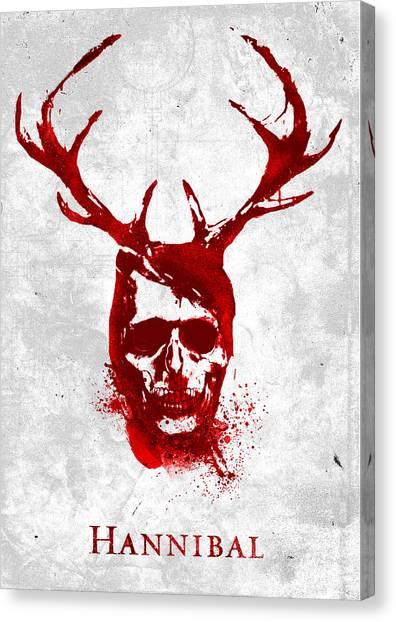 Hannibal Tv Show Poster Canvas Print