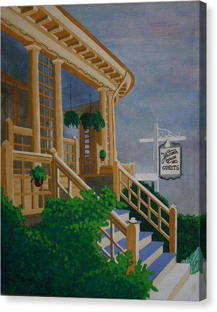 Hansen House Canvas Print