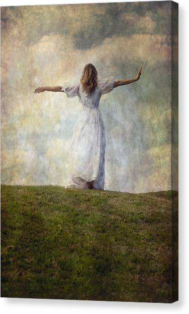 Running Backs Canvas Print - Happiness by Joana Kruse
