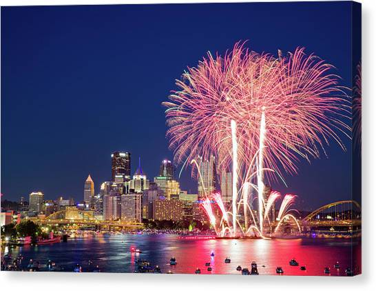 Happy 4th  Canvas Print