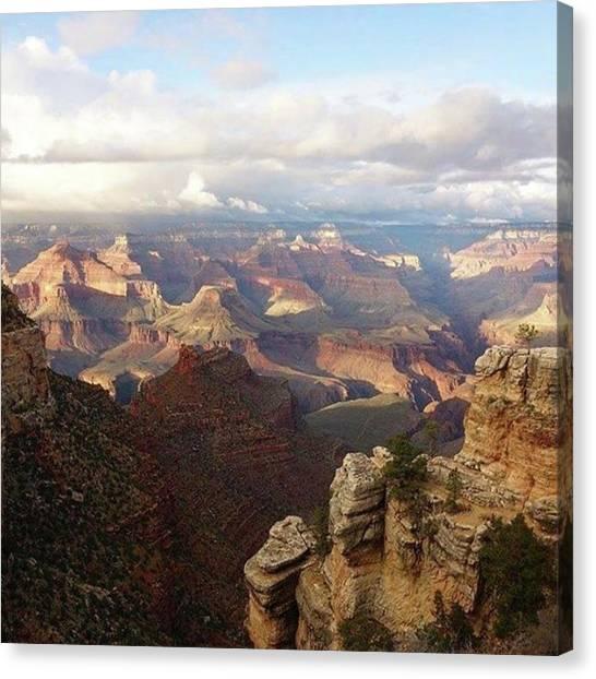 Happy Birthday Canvas Print - #happy 98th #birthday #grandcanyon by Patricia And Craig