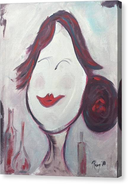 Bartender Canvas Print - Happy Bartender  by Roxy Rich