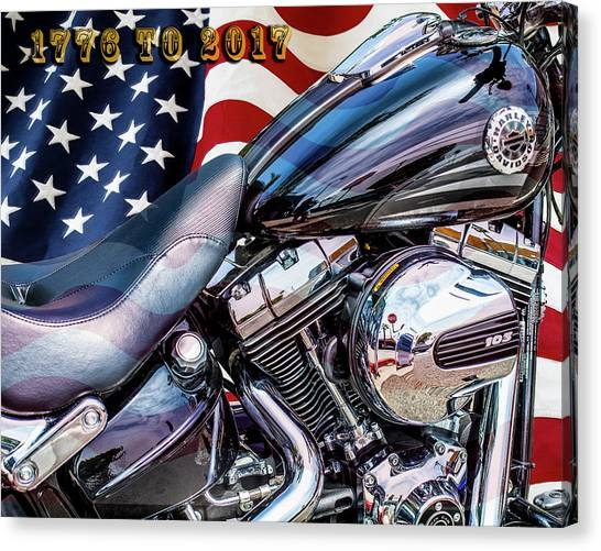 Happy Birthday America Canvas Print