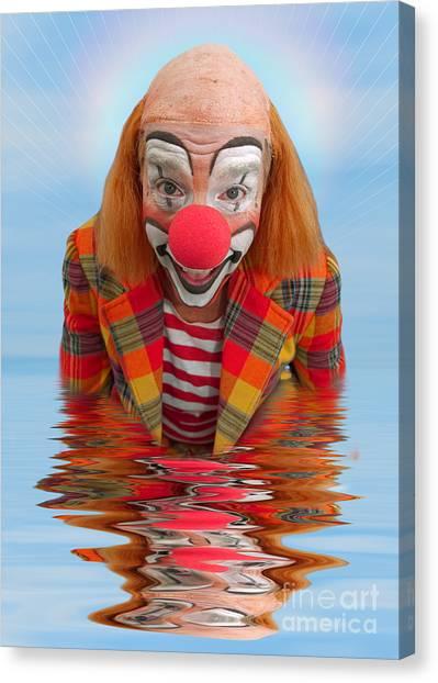 Happy Clown A173323 5x7 Canvas Print