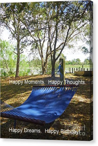 University Of South Florida Canvas Print - Happy Dreams Card by Sharon Eng