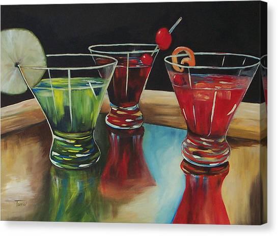 Happy Hour 2007  Canvas Print