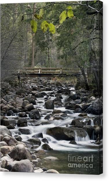 Happy Isle Yosemite Canvas Print