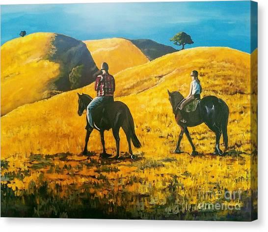 Happy Memories Canvas Print