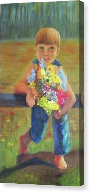 Happy Mothers Day Canvas Print by Dana Redfern