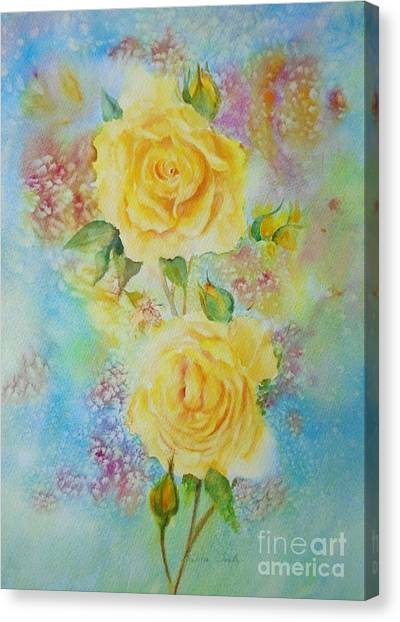 Happy Roses Canvas Print