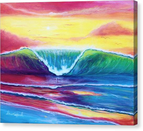 Happy Wave Canvas Print