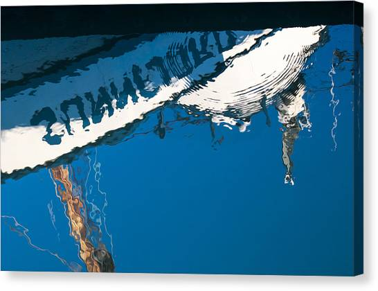 Harbor Blue Canvas Print