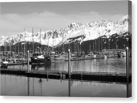 Harbor Boats Canvas Print by Ty Nichols
