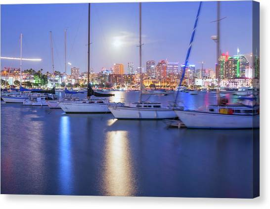 Harbor Bright Canvas Print