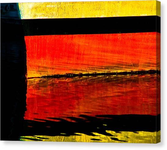 Harbor Colors Canvas Print