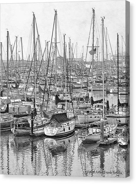 Harbor II Canvas Print