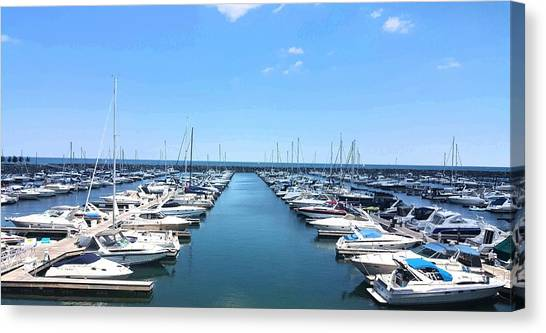Harbor Life Canvas Print
