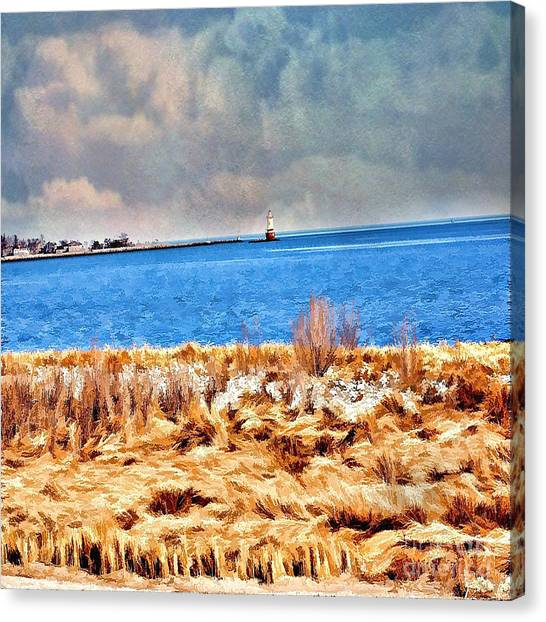Harbor Of Tranquility Canvas Print