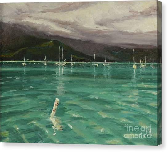 Harbor View Canvas Print