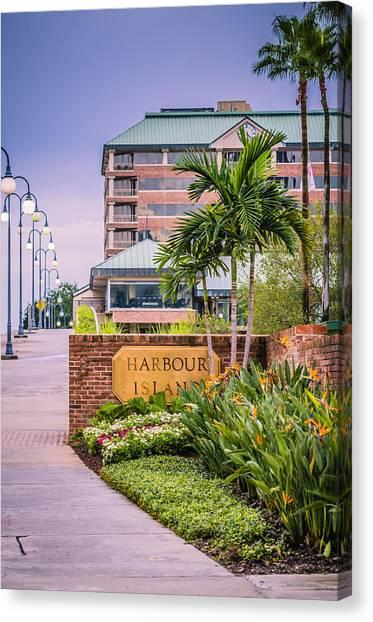 Harbour Island Retreat Canvas Print