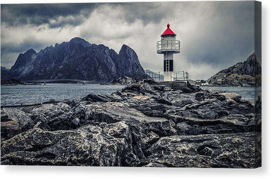 Harbour Lighthouse Canvas Print