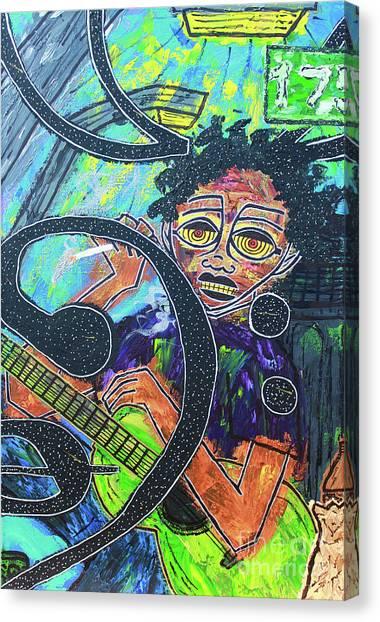 Hard Bass Nights Canvas Print