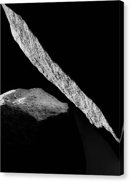 Mojave Desert Canvas Print - Hard Light by Joseph Smith