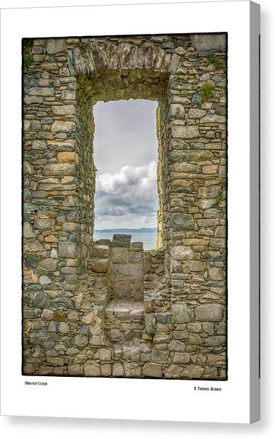 Harlech Cloud Canvas Print