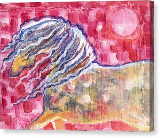 Harlequin Horse Canvas Print by Linda Kay Thomas