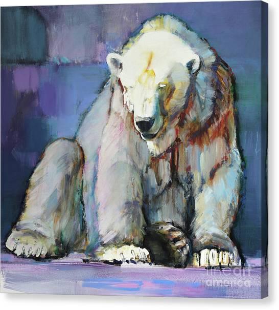 Bear Claws Canvas Print - Harlequin by Mark Adlington