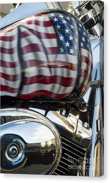 Harley Davidson 7 Canvas Print