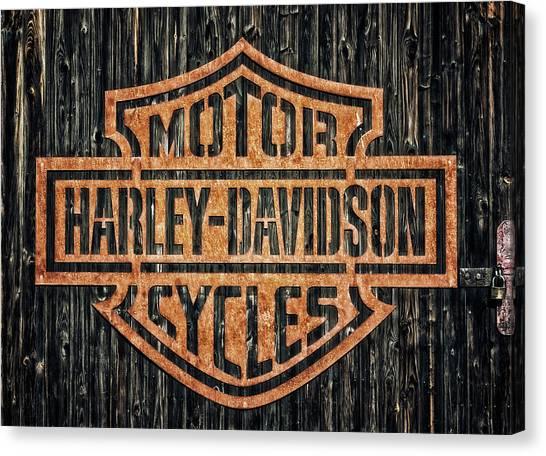 Canvas Print - Harley - Davidson by Tama66