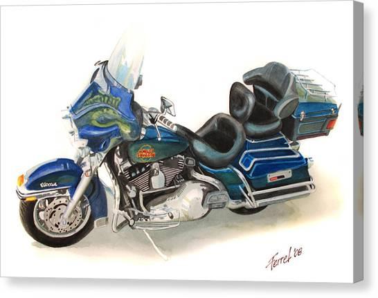 Harley Electraglyde Canvas Print