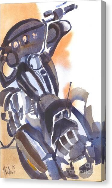 Motorcycle Iv Canvas Print