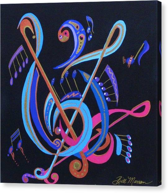 Harmony Iv Canvas Print