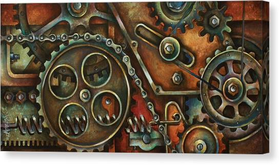 Machinery Canvas Print - Harmony by Michael Lang
