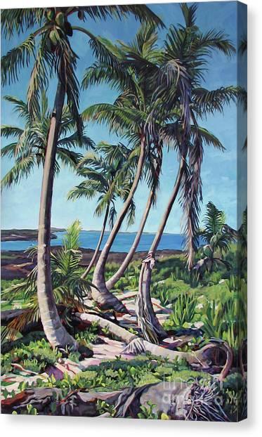 Harpster Island Canvas Print