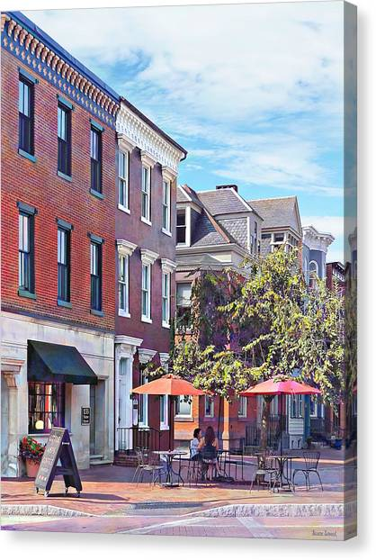 Harrisburg Pa - Coffee Shop Canvas Print