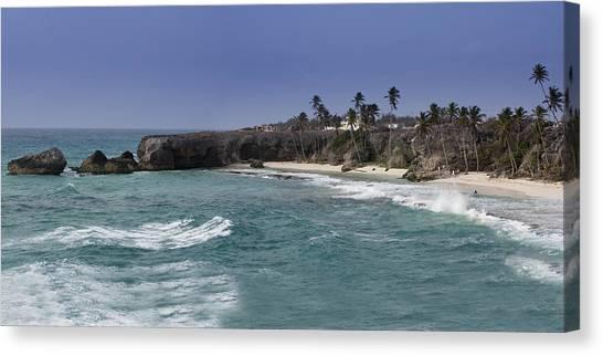 Harrismith Beach - Barbados Canvas Print by Andrew Soundarajan