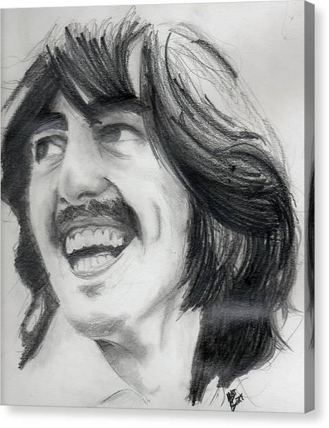Harrison's Smile Canvas Print