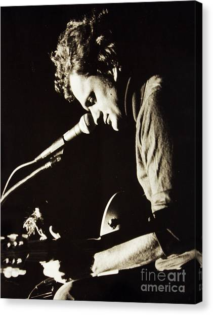 Folk Singer Canvas Print - Harry Chapin by Kent Nickell