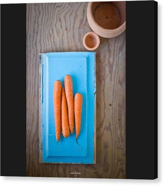 Greek Art Canvas Print - Harry Kanelopoulos Photography Carrots by Harry Kanelopoulos Photography