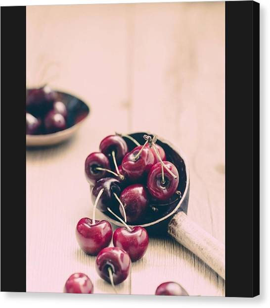Greek Art Canvas Print - Harry Kanelopoulos Photography Cherries by Harry Kanelopoulos Photography