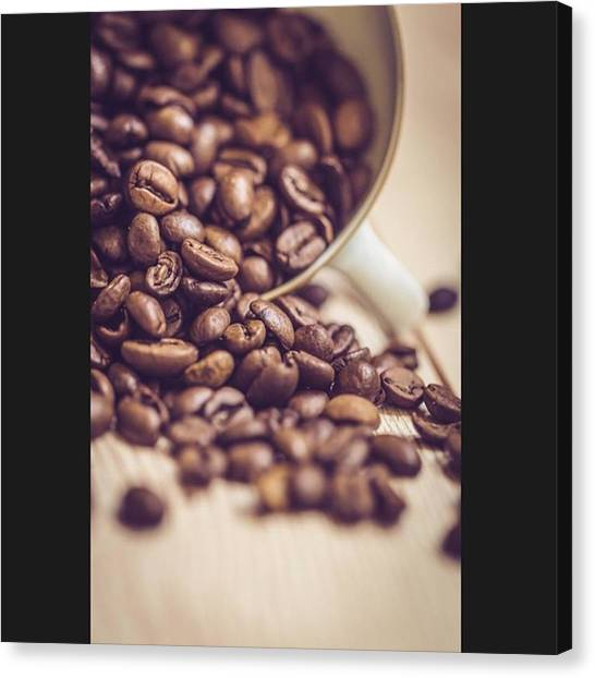 Greek Art Canvas Print - Coffee Beans by Harry Kanelopoulos Photography