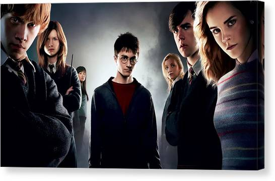 Harry Potter Canvas Print - Harry Potter And The Order Of The Phoenix by Maye Loeser