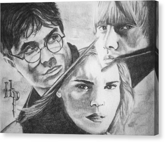 Harry Potter Canvas Print by Madelyn Mershon